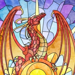 Stained_Glass_dragon
